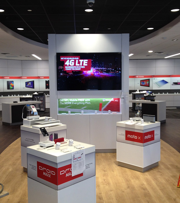 verizon retail build out palm beach gardens fl carrick contracting corporation