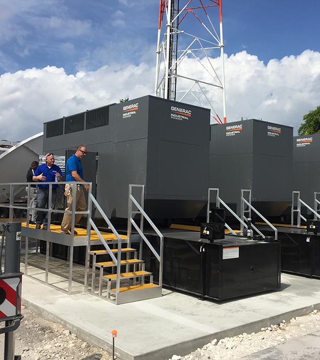 Comcast Generator Install, Pompano Beach, FL