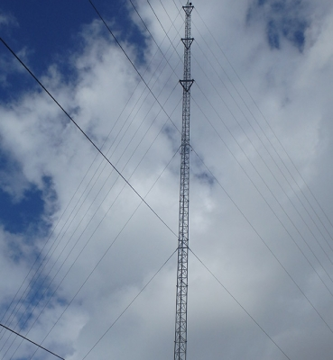 Guyed Tower Install