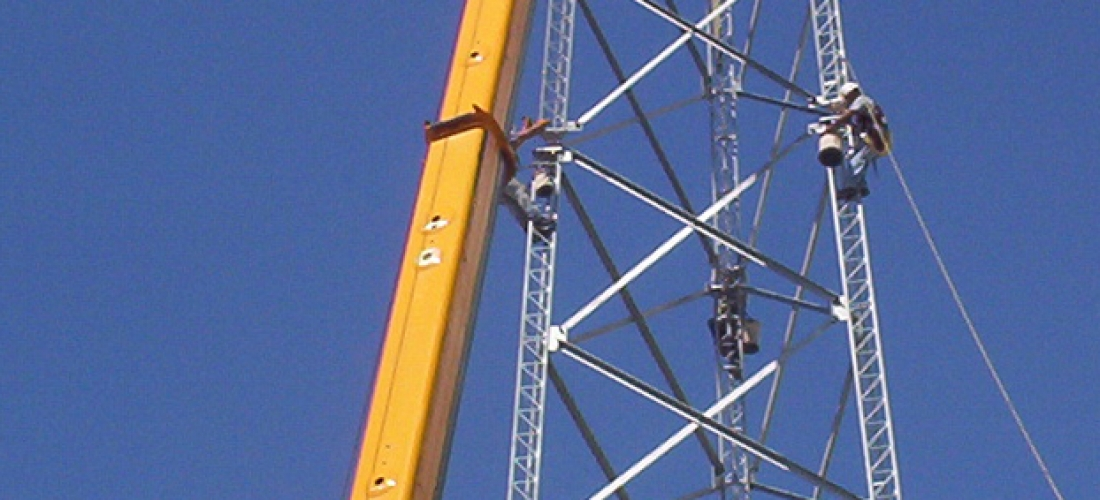 Self-Support Tower Install