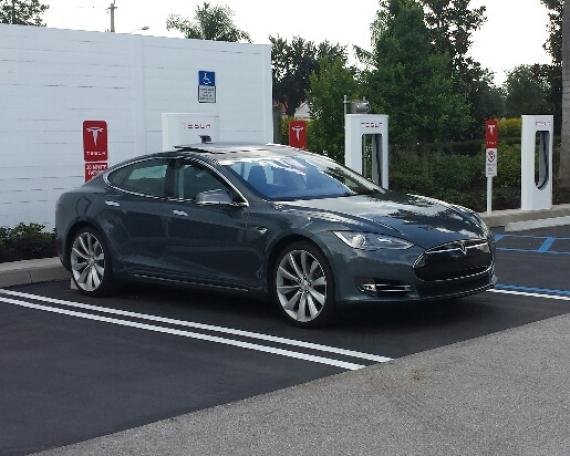 Tesla Charging Station, Port St. Lucie FL